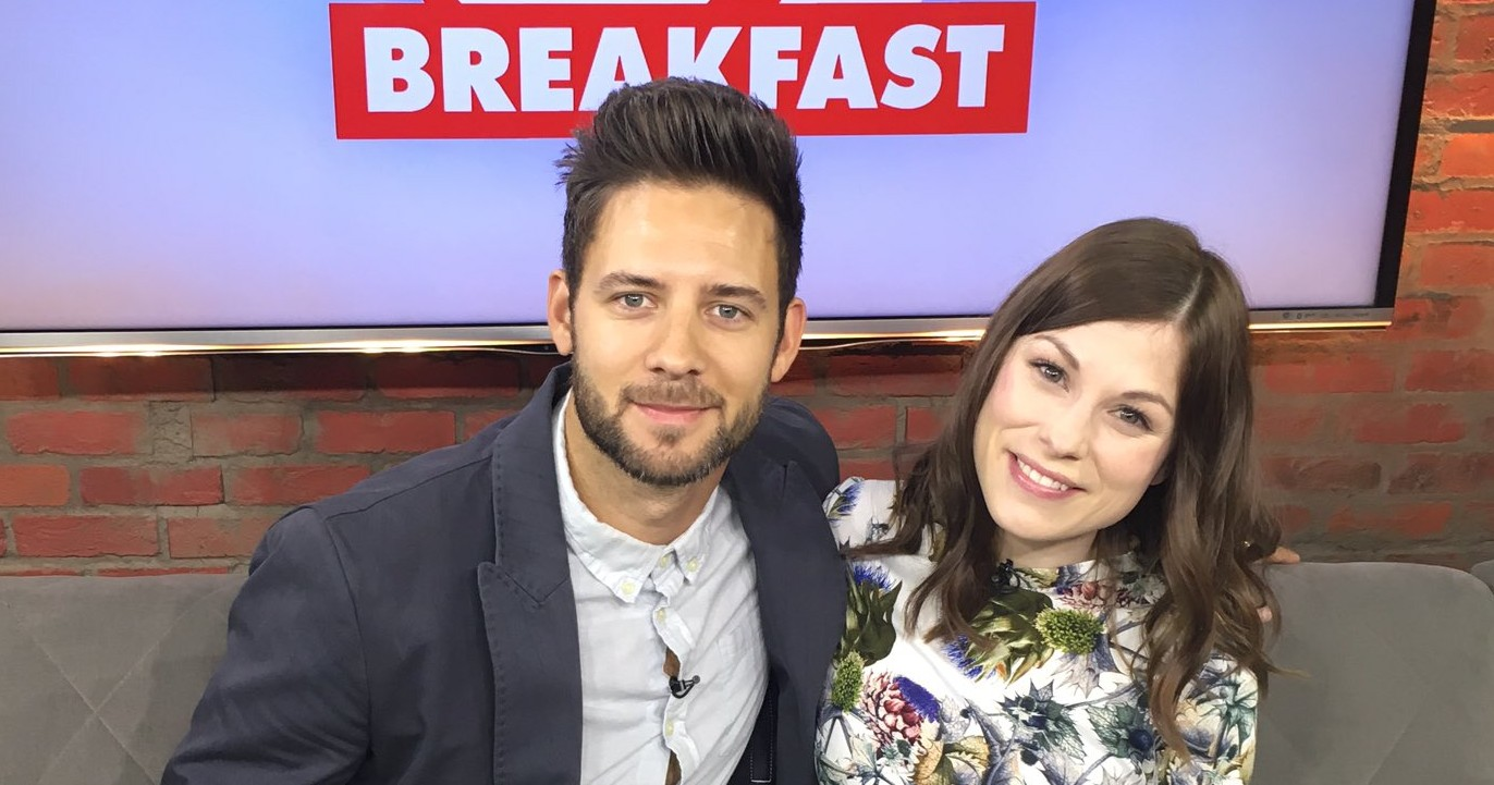 Steve Talks 'Flung' with CP24 Breakfast (Video & Captures)